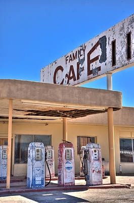 Hdr Family Cafe Art Print by Matthew Bamberg
