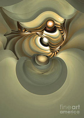 Colorful Abstract Algorithmic Contemporary Digital Art - He Is Like His Father by Sipo Liimatainen