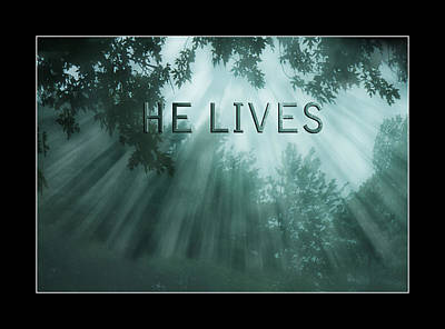 Photograph - He Lives by Trudy Wilkerson