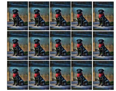 Painting - He Waits by Suni Roveto
