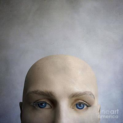 Thoughtfully Photograph - Head Of A Dummy. by Bernard Jaubert