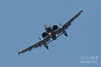 A-10a Thunderbolt Ii Photograph - Head On Ft Af 78 0597 A 10 Thunderbolt II by Henry Plumley Jr