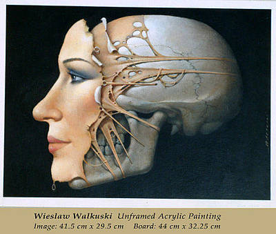 Painting - Head by Wieslaw Walkuski