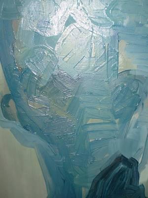Painting - Head2 by Dusan  Marelj