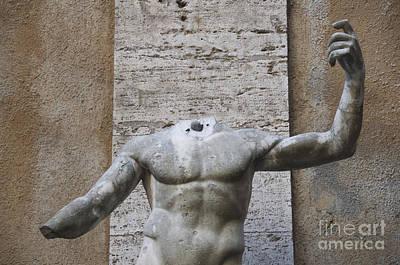 Headless Photograph - Headless Sculpture. Rome by Bernard Jaubert