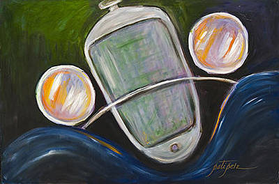 Painting - Headlights by Pati Pelz