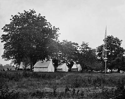 Army Of The Potomac Photograph - Headquarters - Army Of The Potomac - Fairfax Courthouse Virginia 1863 by International  Images
