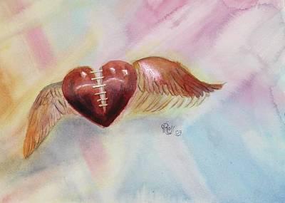 Healing A Broken Heart Art Print