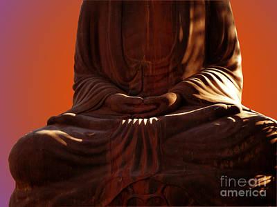Photograph - Healing Hand 2 by Xueling Zou