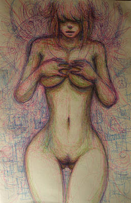 Drawing - Healing Touch by Ralph Nixon Jr