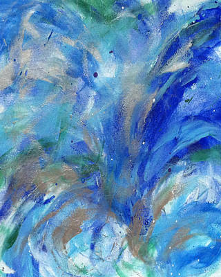 Healing Waves Art Print by Bethany Stanko