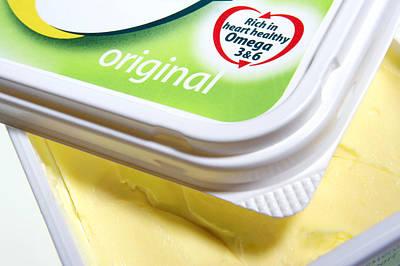 Margarine Photograph - Healthy Margarine by Mark Sykes