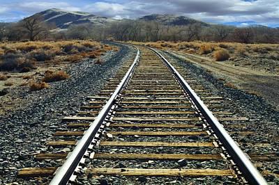 Photograph - Hear That Train A Commin by SB Sullivan