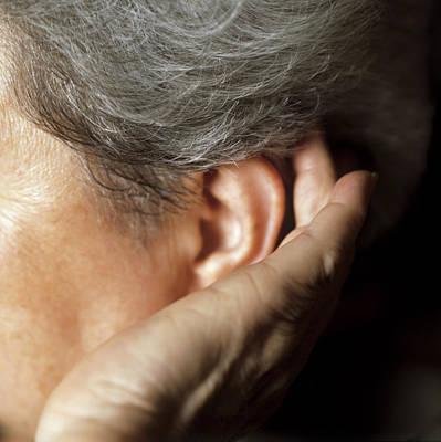 Hearing Loss Art Print by Cristina Pedrazzini