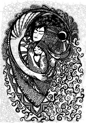 Heart Art Print by Ievgeniia Lytvynovych