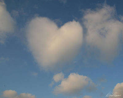 Photograph - Heart In The Clouds by Diana Haronis
