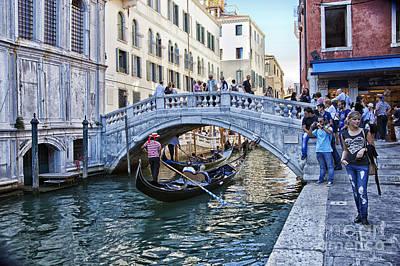 Heart In Venice Art Print by Madeline Ellis