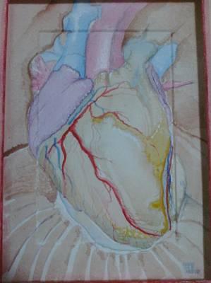 Wall Art - Mixed Media - Heart by Jeremiah Dirt