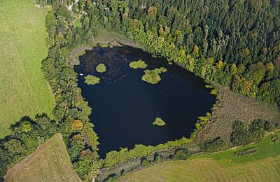 Switzerland Photograph - Heart Lake by Evgeny Korolev
