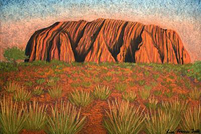 Heart Of Australia Art Print by Lisa Frances Judd