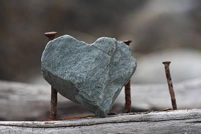 Photograph - Heart Of Stone by Cathie Douglas