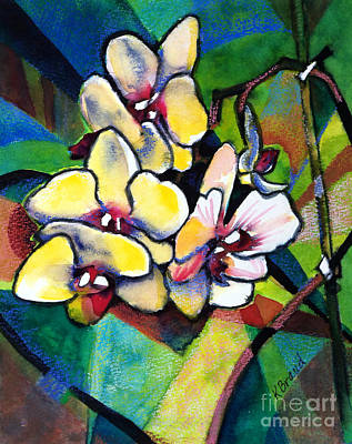 Painting - Heart Of The Orchid by Kathy Braud