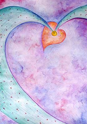 Painting - Heart Of The Universe by Asida Cheng