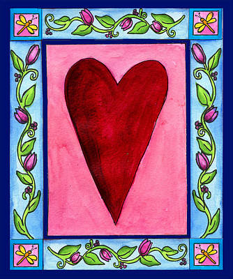 Painting - Heart by Pamela  Corwin