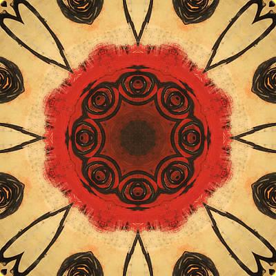 Digital Art - Heart Red by Kathy Sheeran