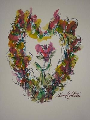 Heart Strings Art Print by Edward Wolverton