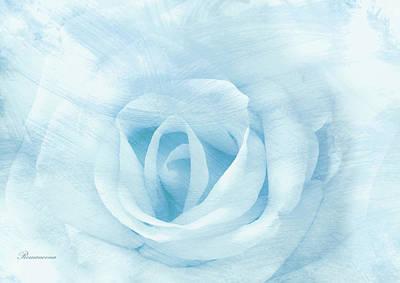 Roses Mixed Media - Heart To Heart by Georgiana Romanovna