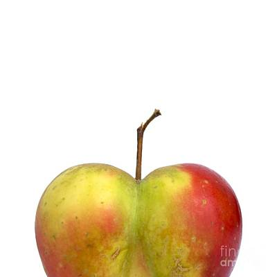 Heart.apple. Print by Bernard Jaubert