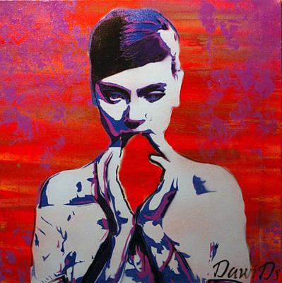 Heartless Art Print by Martin DawiDs