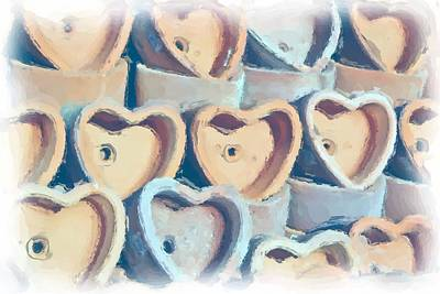 Photograph - Hearts A Plenty by Heidi Smith
