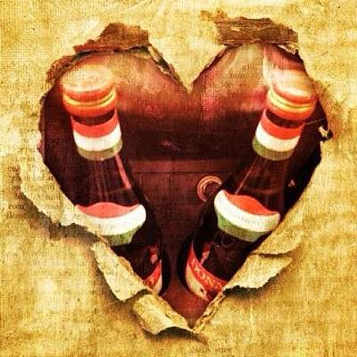 Cheap Photograph - Hearts by Avril O