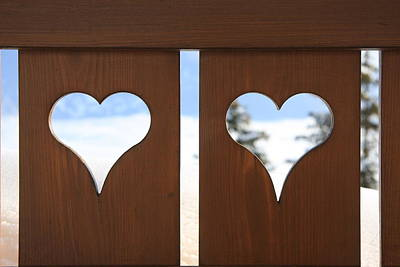 Y120817 Photograph - Hearts by Jodie Wallis