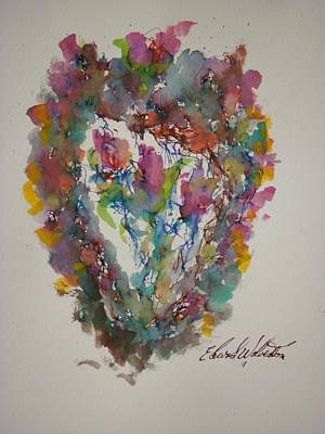 Hearts Pleasures Art Print by Edward Wolverton