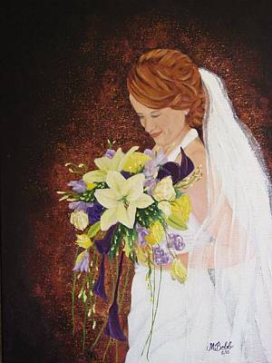 Painting - Heather's Special Day by Margaret Bobb