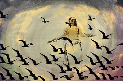 Heaven Sent Art Print by Bill Cannon