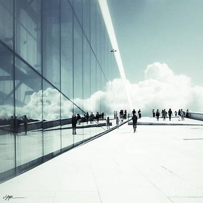 Heavenly Walk In Oslo 2 Art Print by Marianne Hope