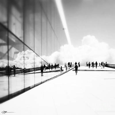 Heavenly Walk In Oslo 3 Art Print by Marianne Hope