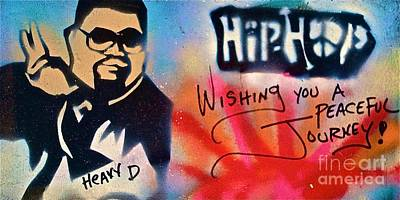 Liberal Painting - Heavy D by Tony B Conscious