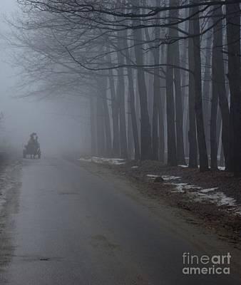Heavy Foggy Day Art Print