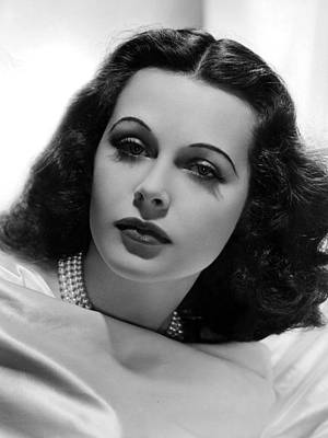 Publicity Shot Photograph - Hedy Lamarr, 1938, Photo By Clarence by Everett