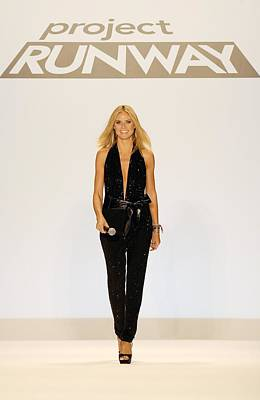 Heidi Klum In Attendance For Project Art Print