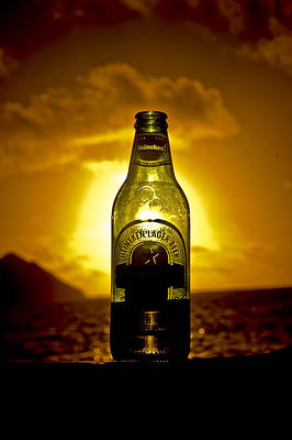 Photograph - Heineken Sunset by Mickey Clausen