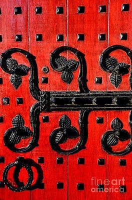 Heinz Chapel Door Detail Art Print by Thomas R Fletcher