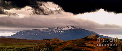 Photograph - Hekla Is Ready by Michael Canning