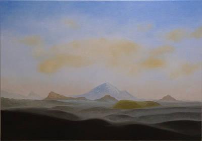 Painting - Hekla-volcano by Ingimar Waage