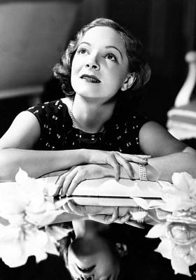 Helen Hayes, 1934 Art Print by Everett